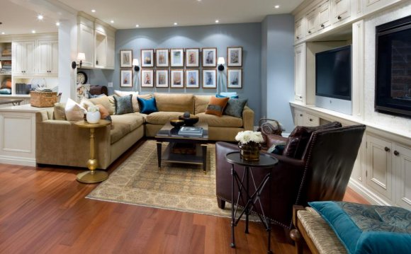 10 Chic Basements by Candice