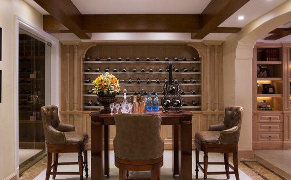 American-style wine cellar