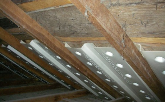 Awesome Attic Vent Baffles #2