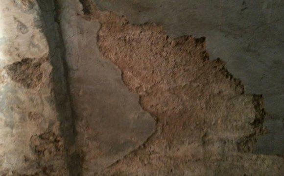 Basement walls flaking