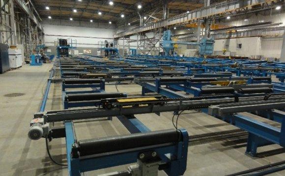 For welding membrane walls