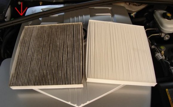 Step 5) Remove the Air Filter