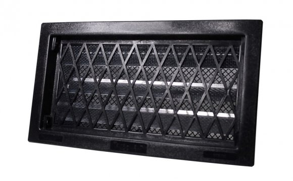 Black Crawl Space Vent