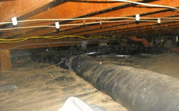 Flexible ductwork on the
