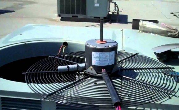Hvac rheem condenser fan motor