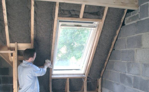 Insulating rafters 2