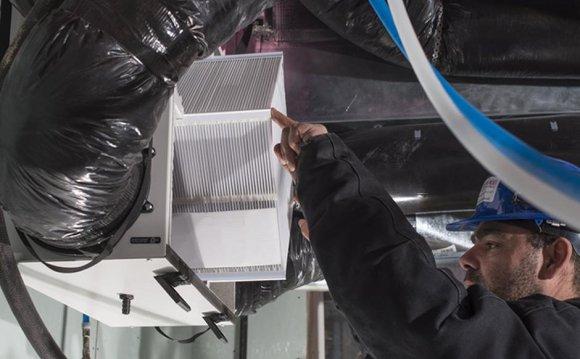 A heat recovery ventilator