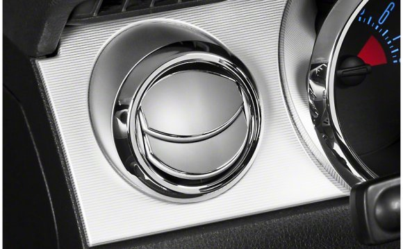 Modern Billet Chrome Air Vent