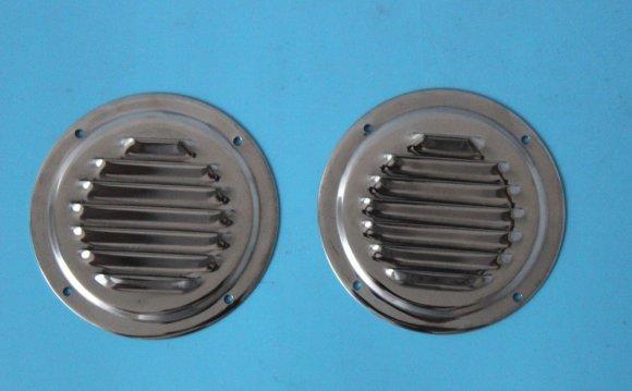 2X Circular Stainless Steel