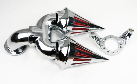 Motorcycle parts Chrome Double