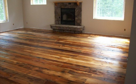 Wood flooring, Reclaimed wood