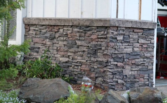 Exterior basement wall Covering
