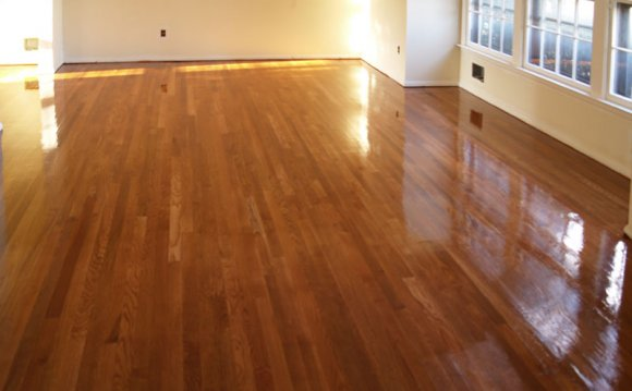 Loose hardwood floor boards