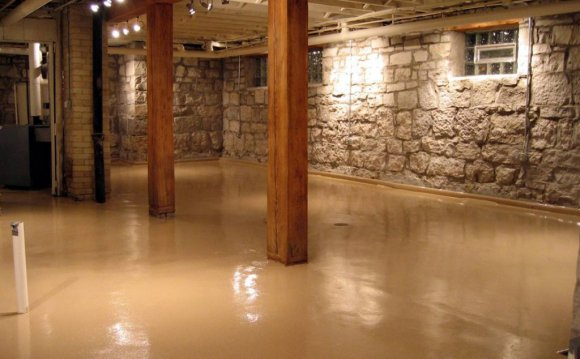 Paint for concrete basement floor
