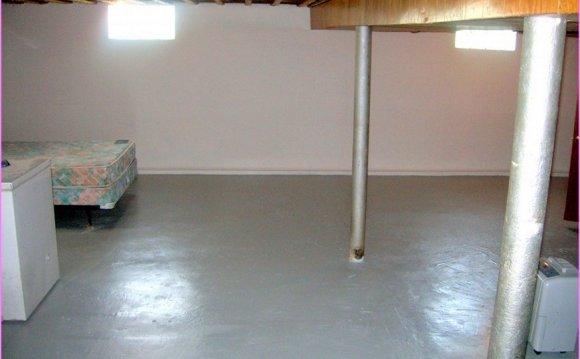 Basement concrete Sealer