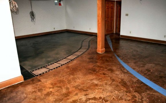 Damp basement Flooring