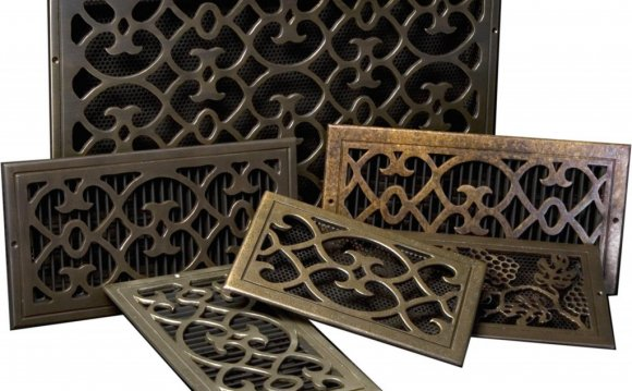 Decorative ceiling air vent covers