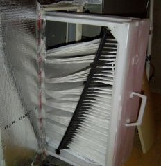 hvac air flow filter comb collapse iaq