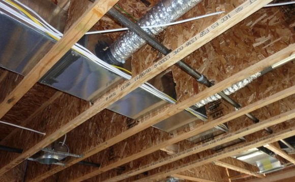 Installing Heating ducts