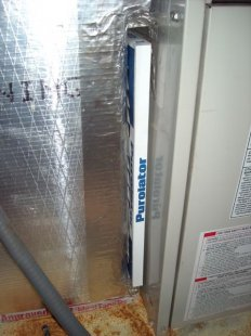hvac filter air handler return plenum no cover iaq