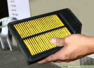 Image titled Change Your Air Filter Step 1