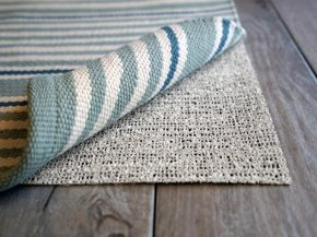 Nature's grip rug pad, non-slip and eco-friendly
