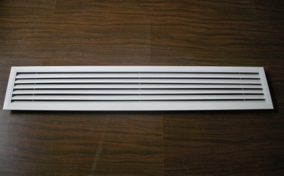Central air Conditioning ceiling vents