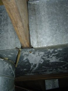 panned joist return duct hvac leakage iaq