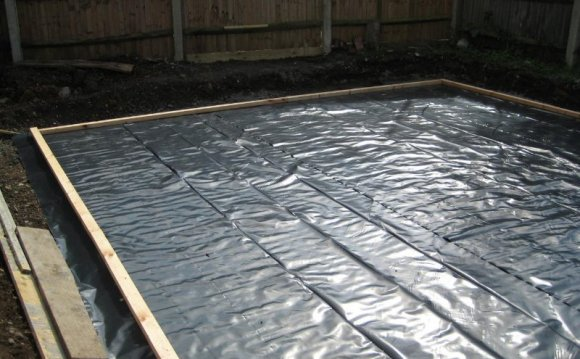 Damp proof course membrane