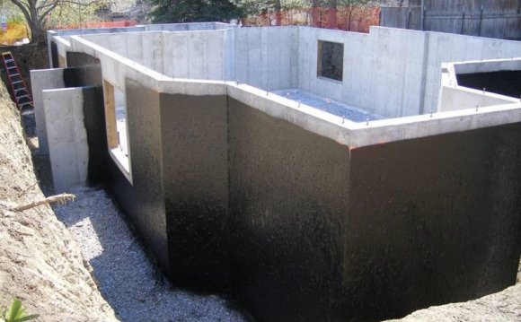 Are concrete blocks Waterproofing