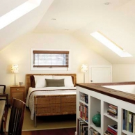 refinished attic