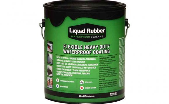 Waterproofing sealant paint