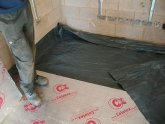 How to lay a DPC membrane?