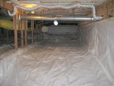 How to sealing crawl space?